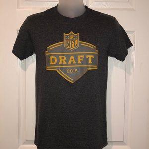 NFL 2015 Draft Tee Dark Grey NWOT